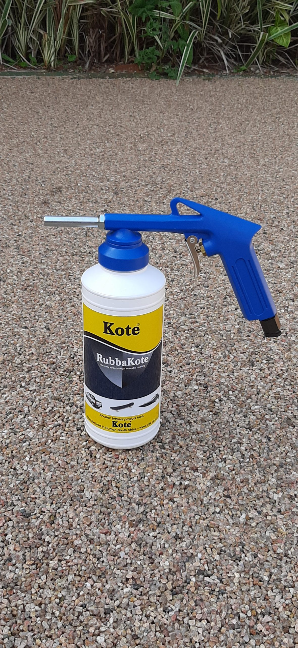Rubber Coating Spray-gun