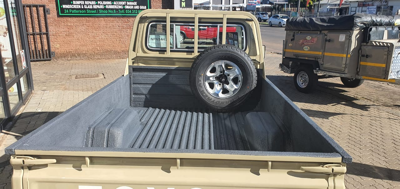 Rubberizing your Bakkie Bin - RubberKote - Rubber Coating - Durban - South Africa